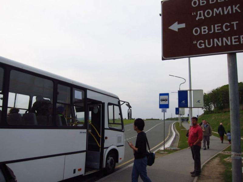 プリモスキー水族館シャトルバス