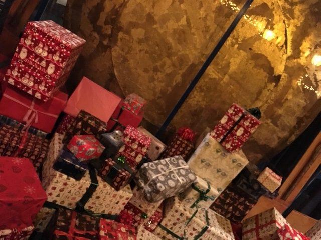 サンタさんが用意してるプレゼント