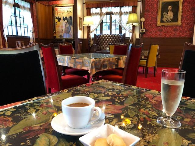 東府や大正館でコーヒー