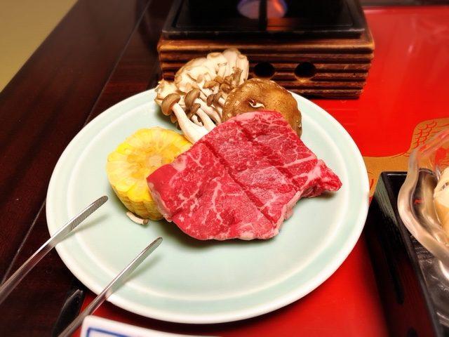 蔵王牛ステーキ