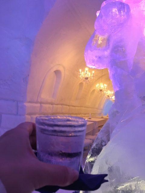 フィンランドのアイスレストラン2