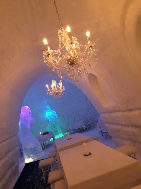 フィンランドのアイスレストラン